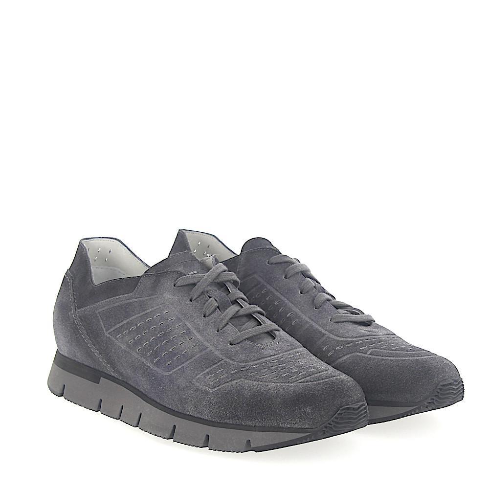 santoniSneaker 20754 suede Hole pattern 1ysjHqpry