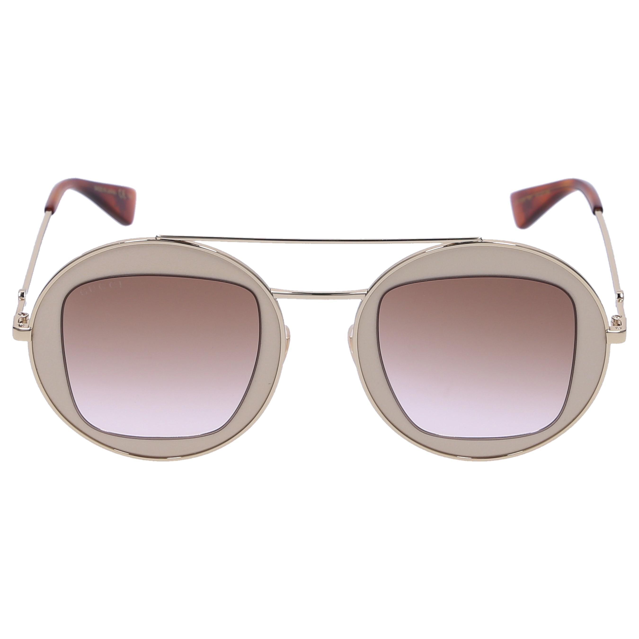 9020a1e663 Gucci Women Sunglasses Aviator 105s Titan Gold - Lyst
