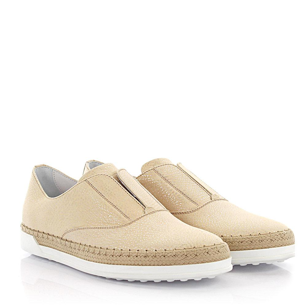 Tod's Tods Sneakers Slip On nubuck leather bast KByK3GM