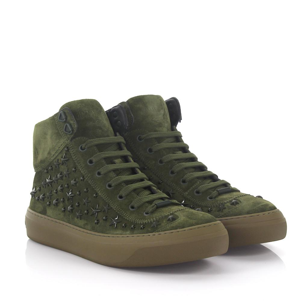 Jimmy chooSneakers High Argyle suede stars lYpuEn