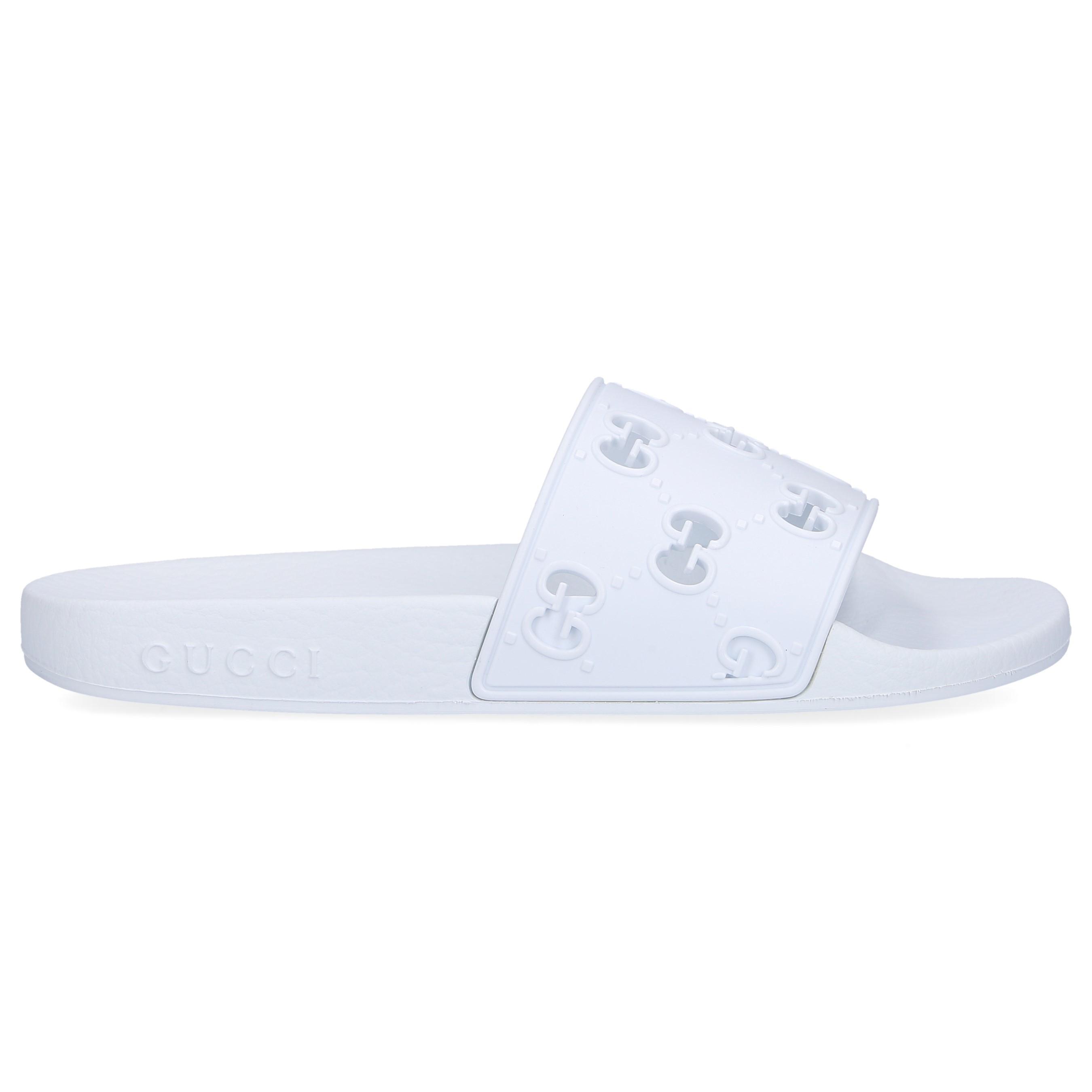 Gucci Beach Sandals Jdr00 in White - Lyst
