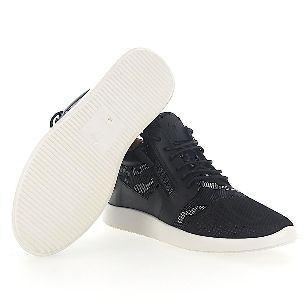 buy online fab0f bf5ef giuseppe-zanotti-black-Sneaker-Runner-Calfskin-Mesh-Textile-Camouflage.jpeg
