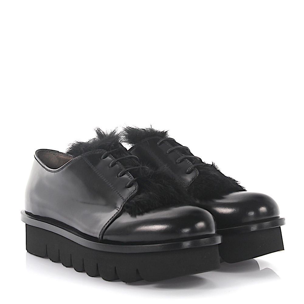 AGL ATTILIO GIUSTI LEOMBRUNI Loafers plateau leather rabbit fur Sale Wide Range Of Cheap Sale Sneakernews Amazon For Sale 8FDOVY8g