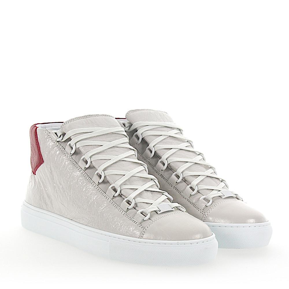 Balenciaga Leather Sneaker High Arena