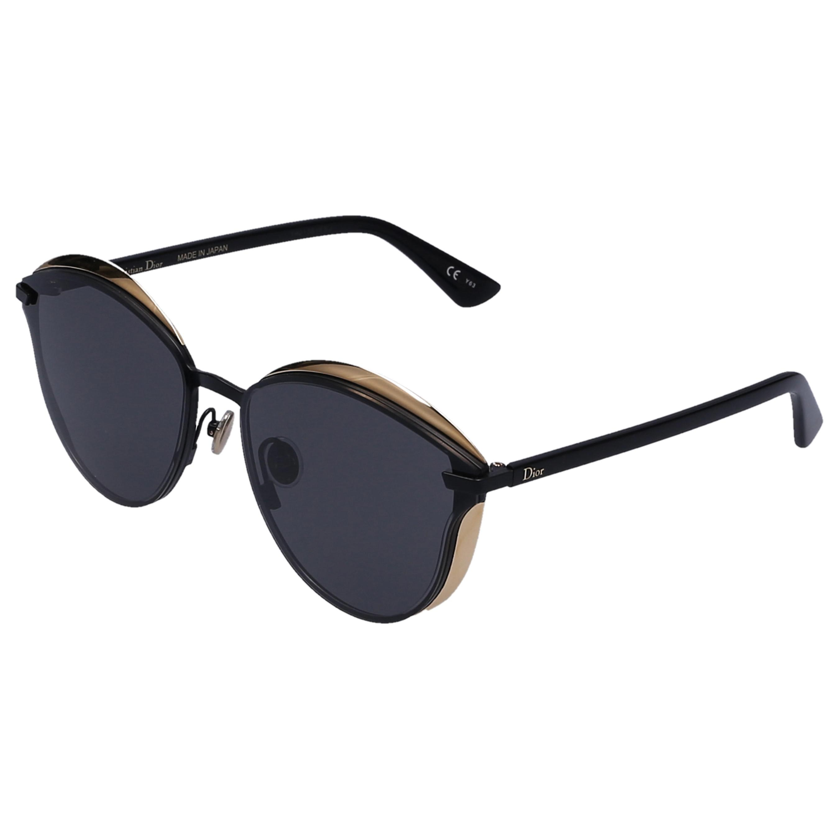 e34aa39e26 Dior - Blue Sunglasses Cat Eye Murmur Acetate Black - Lyst. View fullscreen