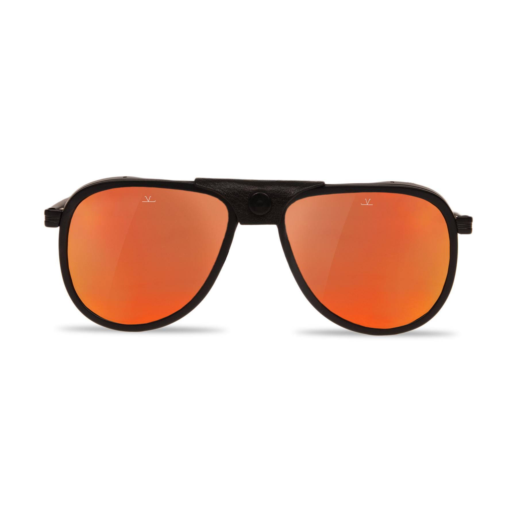 Sunglasses Aviator GLACIER1957 steel acetate black matte red Vuarnet umMjWo5VUP