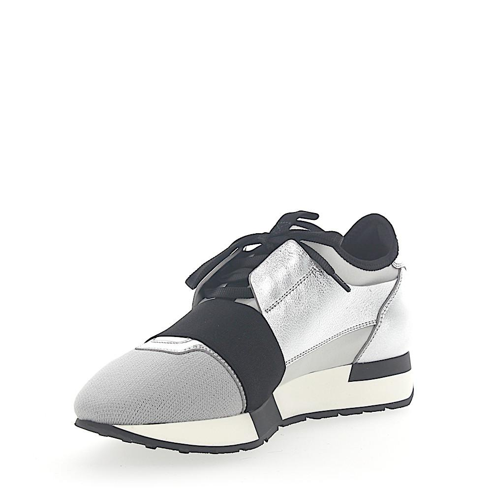 Balenciaga Sneakers RACE RUNNER leather material mesh