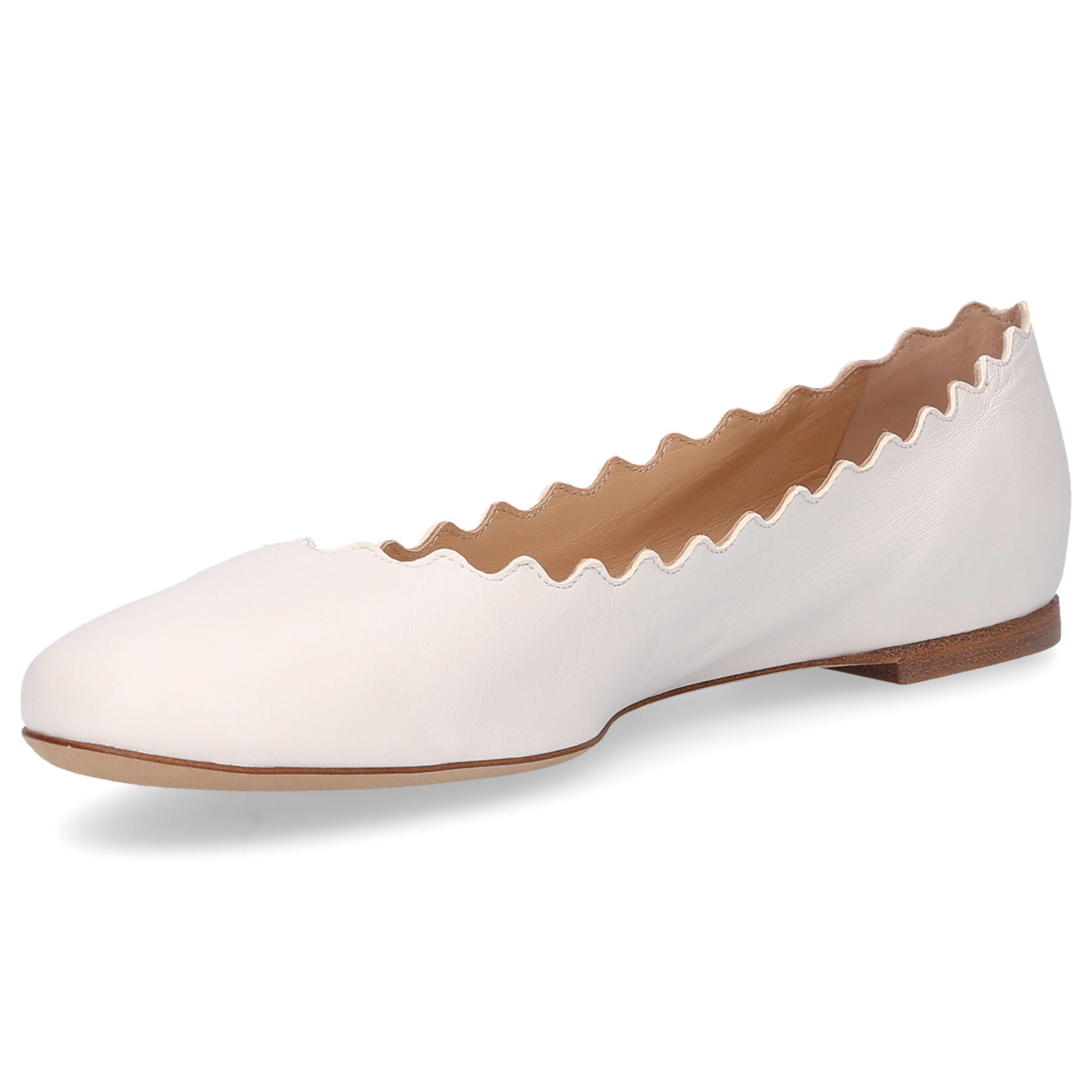 2d459a60172 Chloé - White Classic Ballet Flats Lauren - Lyst. View fullscreen