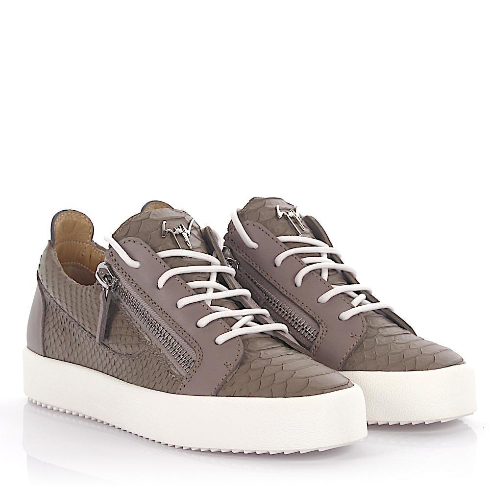Giuseppe Zanotti Sneakers Nicki Low Top Leather
