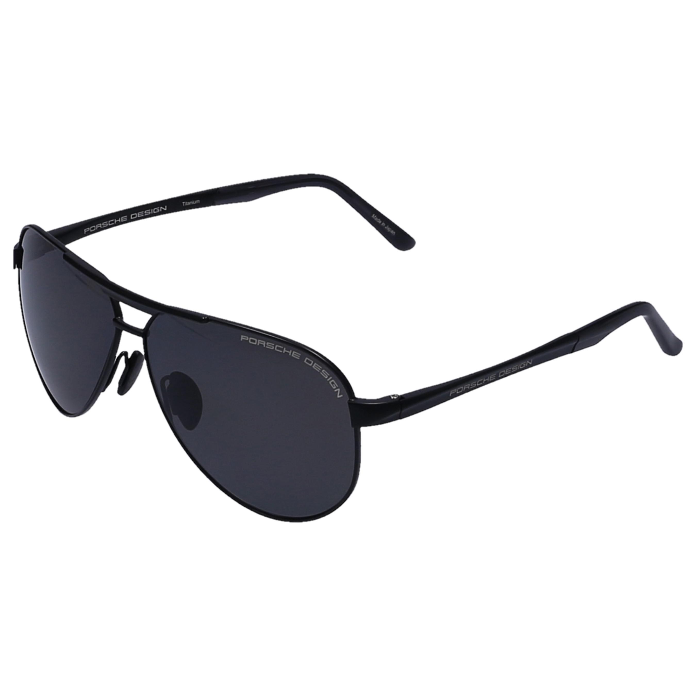 8020626e6e8 Porsche Design - White Men Sunglasses Aviator 8649 Titan Actetate Black for  Men - Lyst. View fullscreen