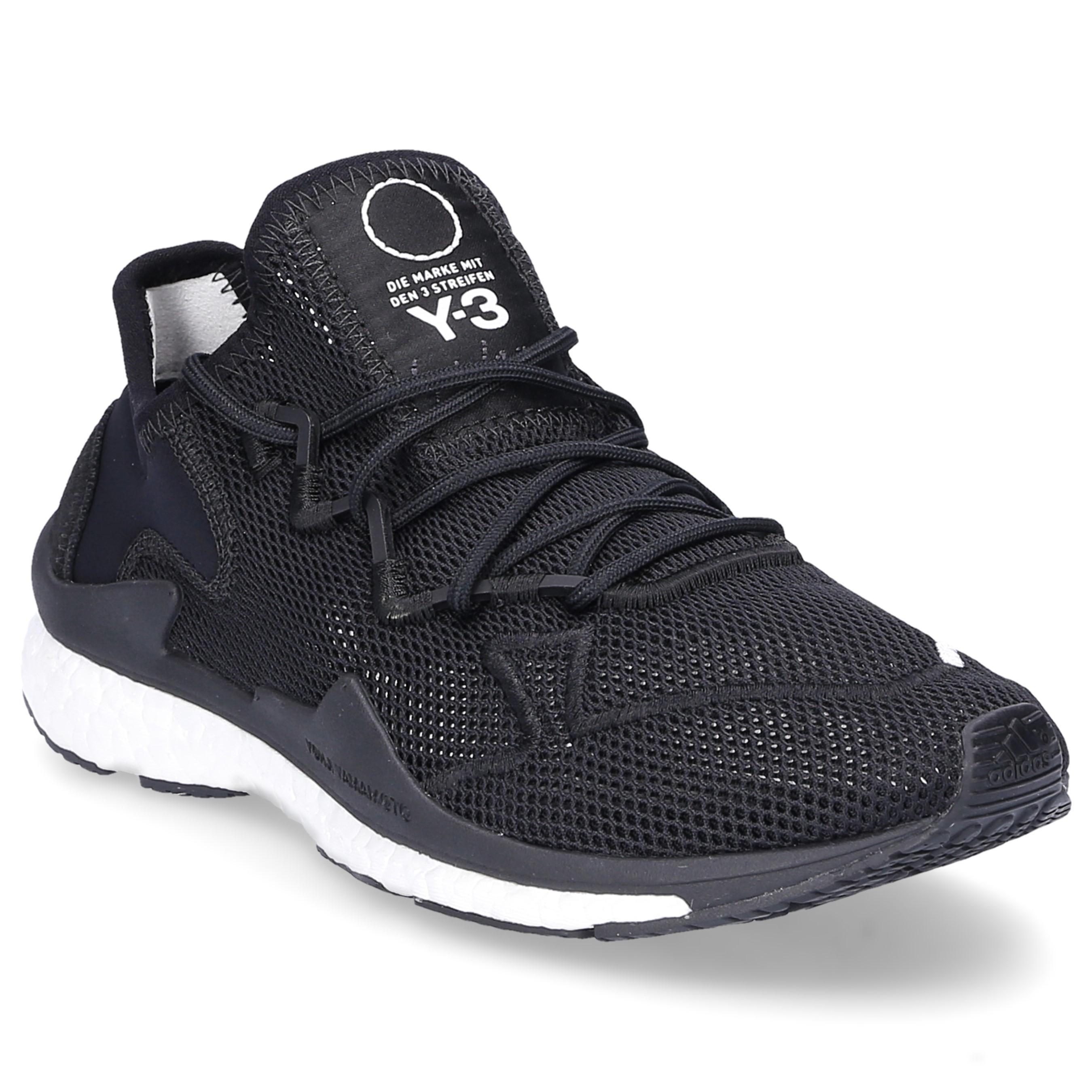 Y-3 Low-top Sneakers Adizero Runner Mesh Neoprene Logo Black