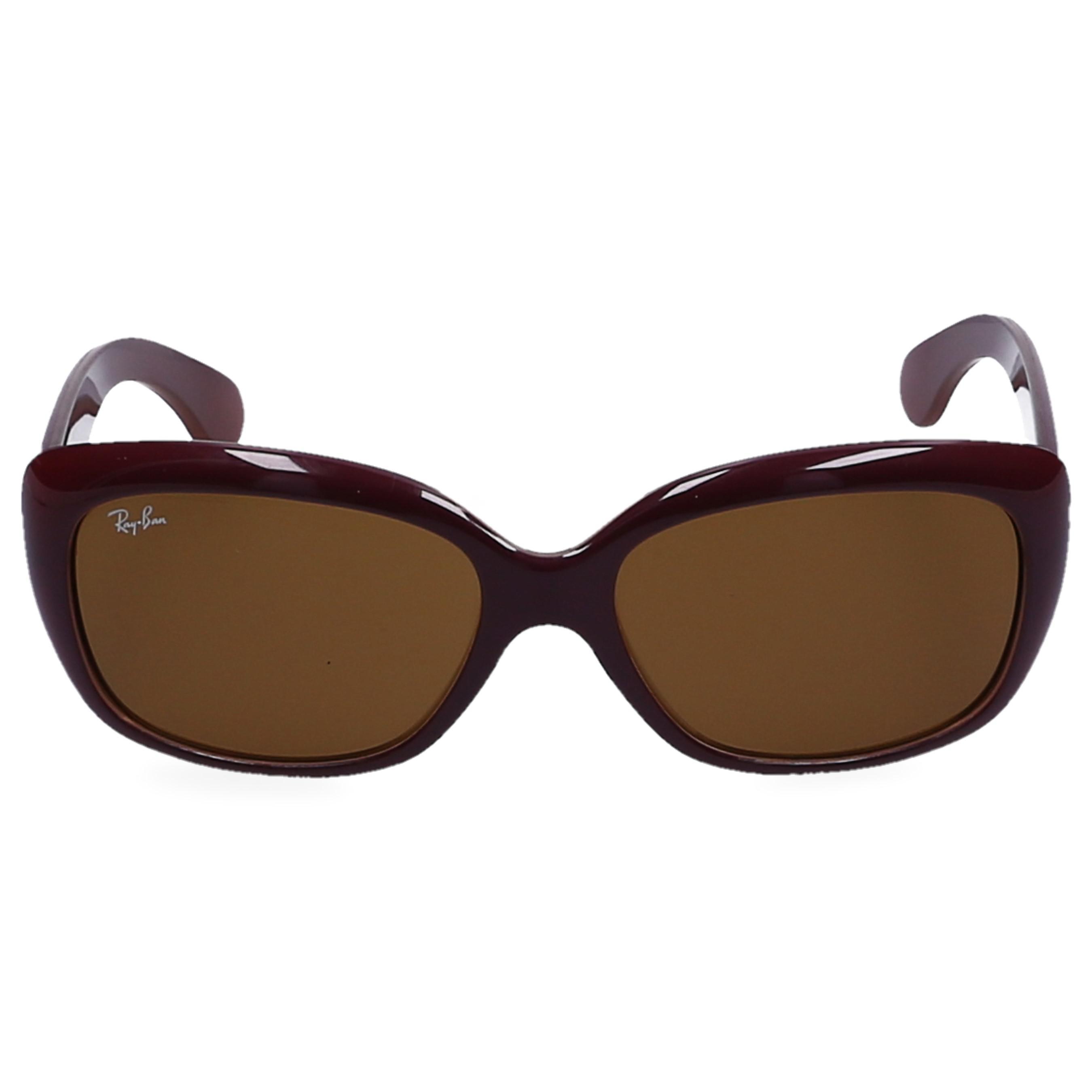 c4a7fd18f5d Lyst - Ray-Ban Women Sunglasses Rectangular 4101 Nylon Bordeaux in Brown