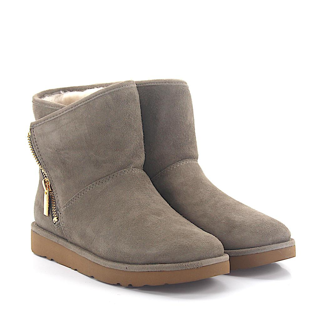 13514a2d40d spain ugg grey ankle boots 54ecc 280b3