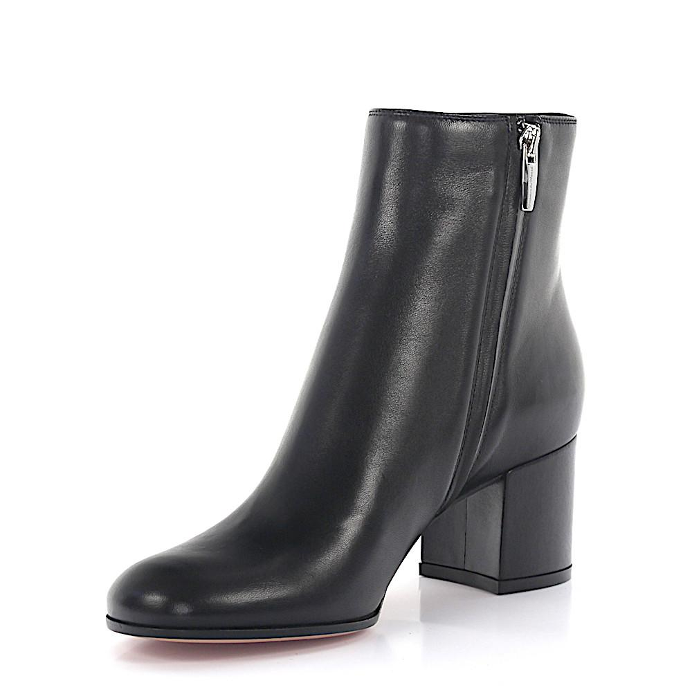 Gianvito Rossi Boots MARGAUX MID BOOTIE nappa leather qkCQTijLF
