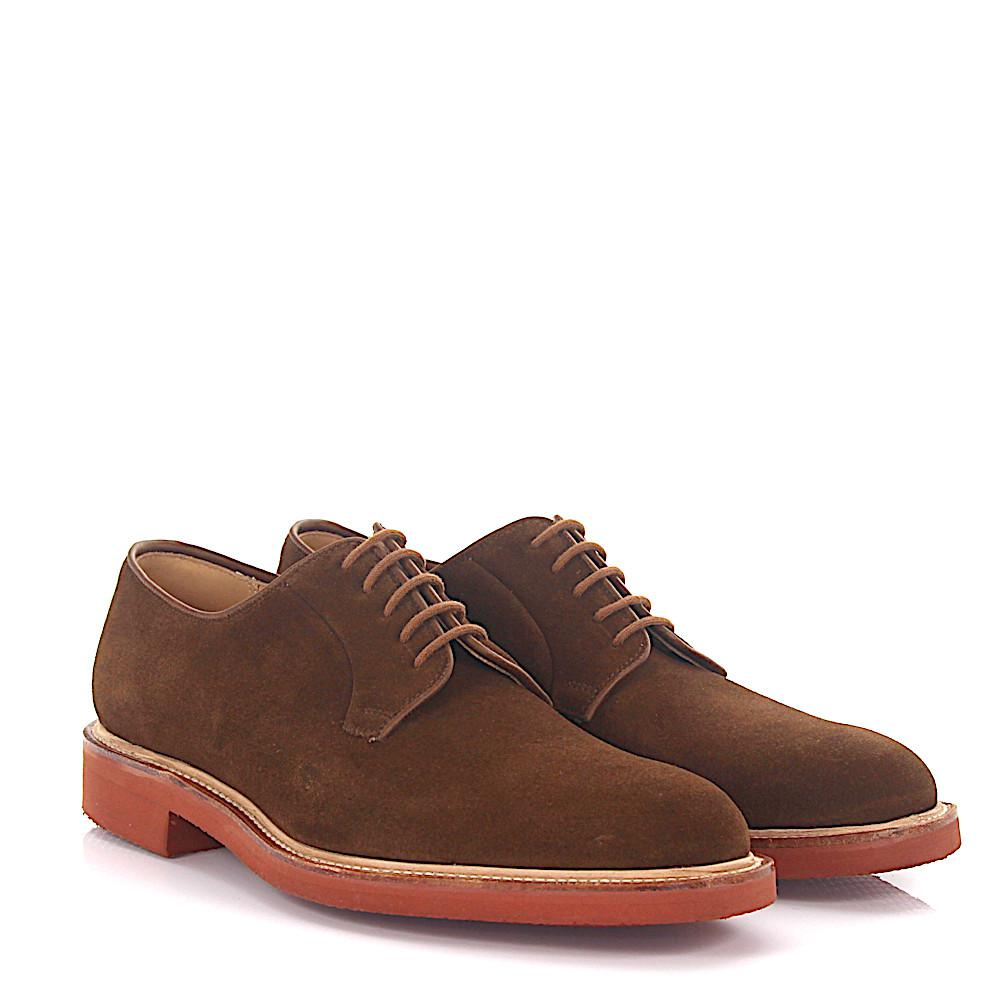 Crockett & Jones Derby budapester Pembroke leather cordovan bordeaux goodyear welted O6Eyo9QOm