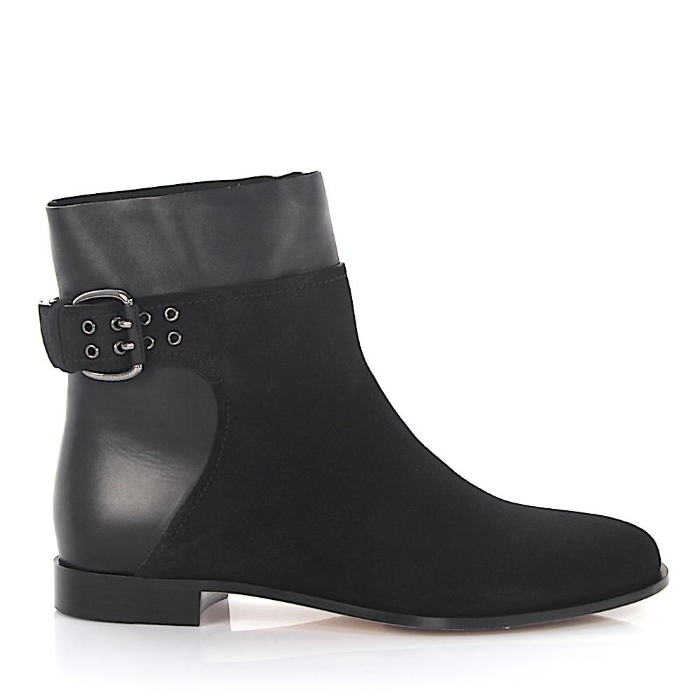 Jimmy Choo Suede Ankle Boots Black
