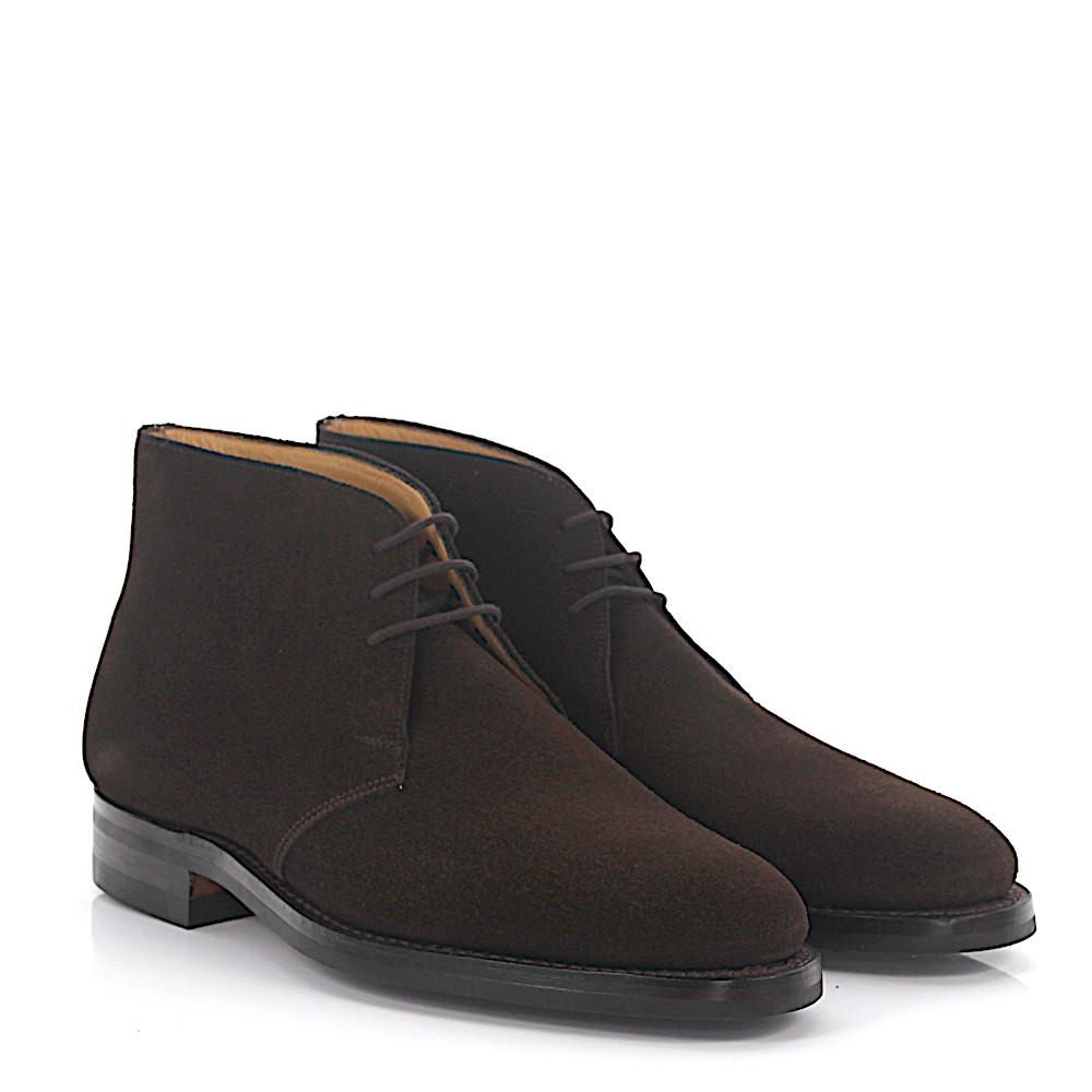 Excellent For Sale Clearance Fashionable Ankle boots BODMIN suede black Goodyear Welted Crockett & Jones fTNV3M