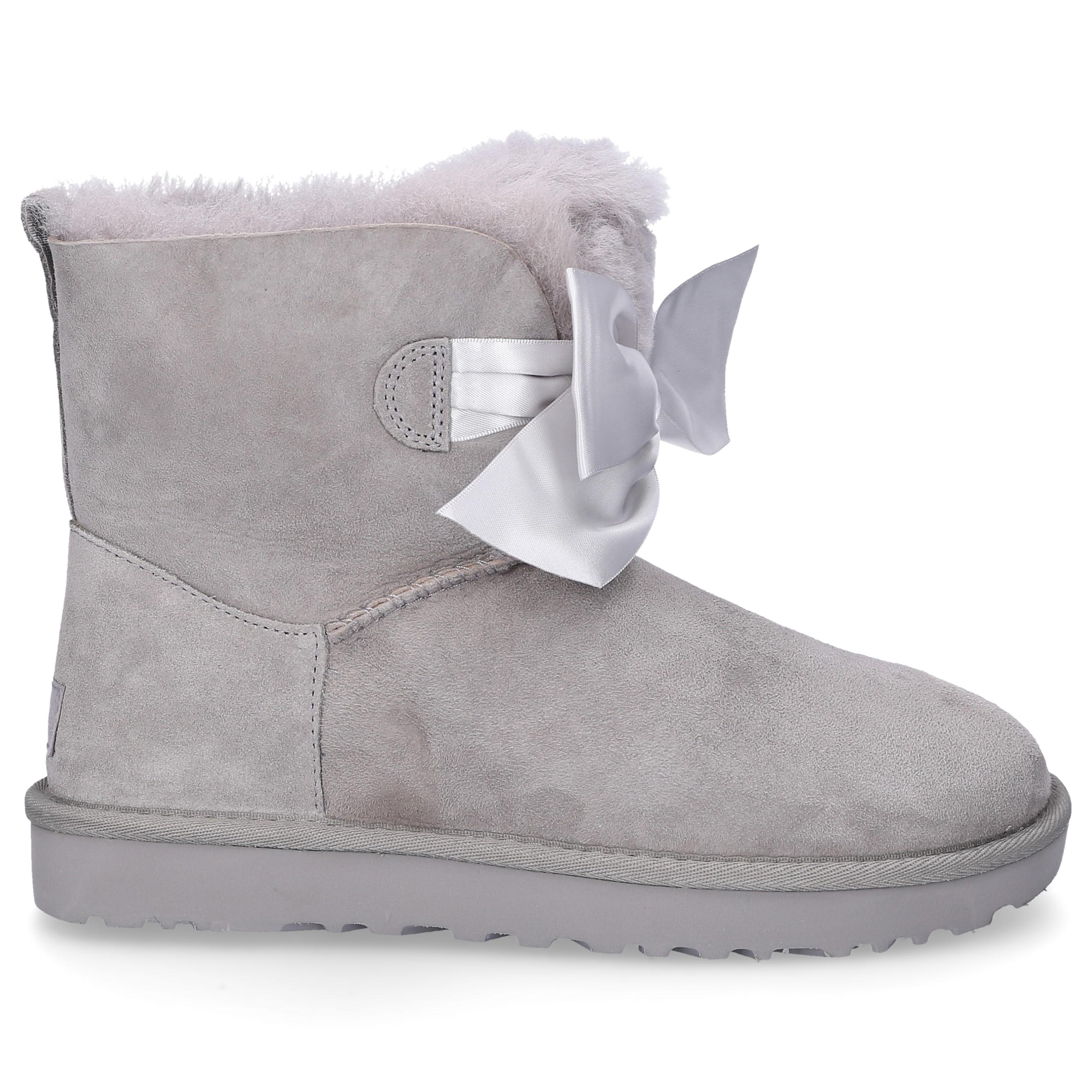 d9523784916 Women's Ankle Boots Gray Gita Bow