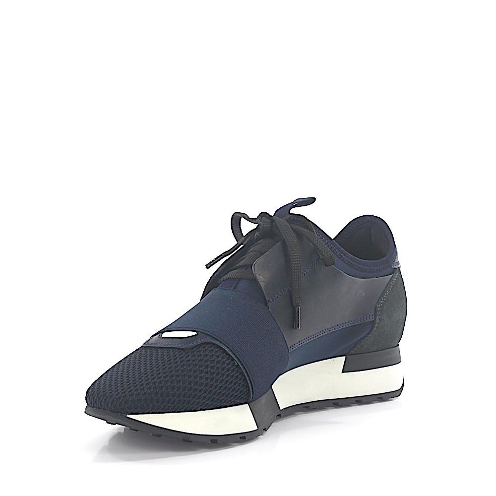 BalenciagaSneakers RACE RUNNER leather suede fabric mesh vZkcJnK5