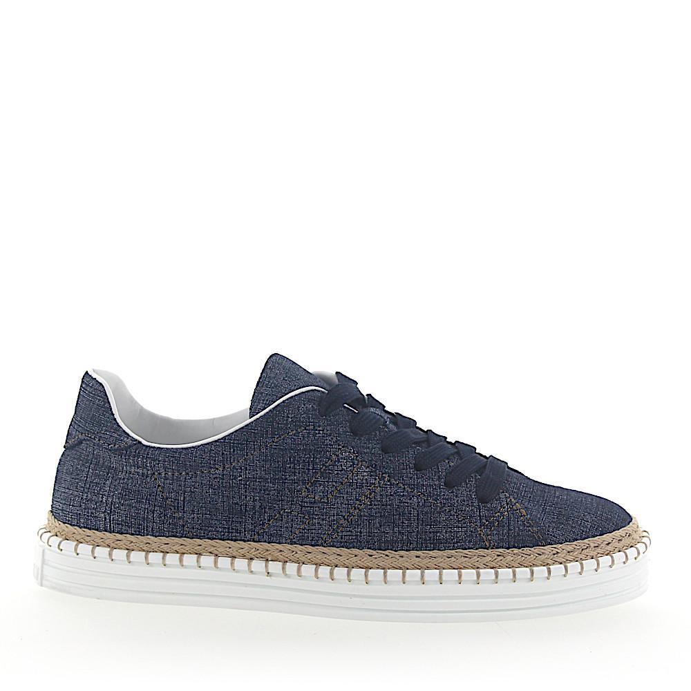 Hogan Sneakers R260 Denim Jeansblau Beige in Blue - Lyst