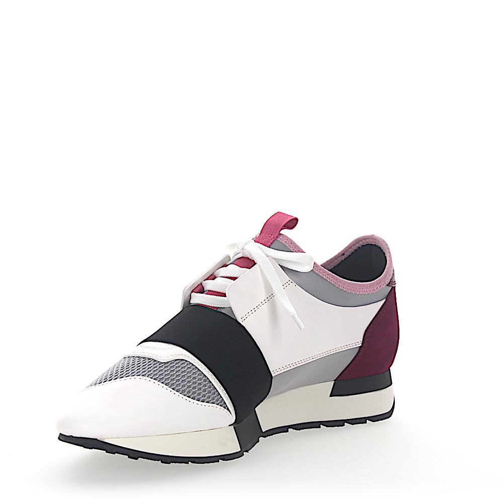 Cheap Price Fake Sneakers RACE RUNNER calfskin mesh Logo black pink Balenciaga Outlet Footlocker Finishline For Sale Discount Sale Discount Huge Surprise nKnHsHAu1