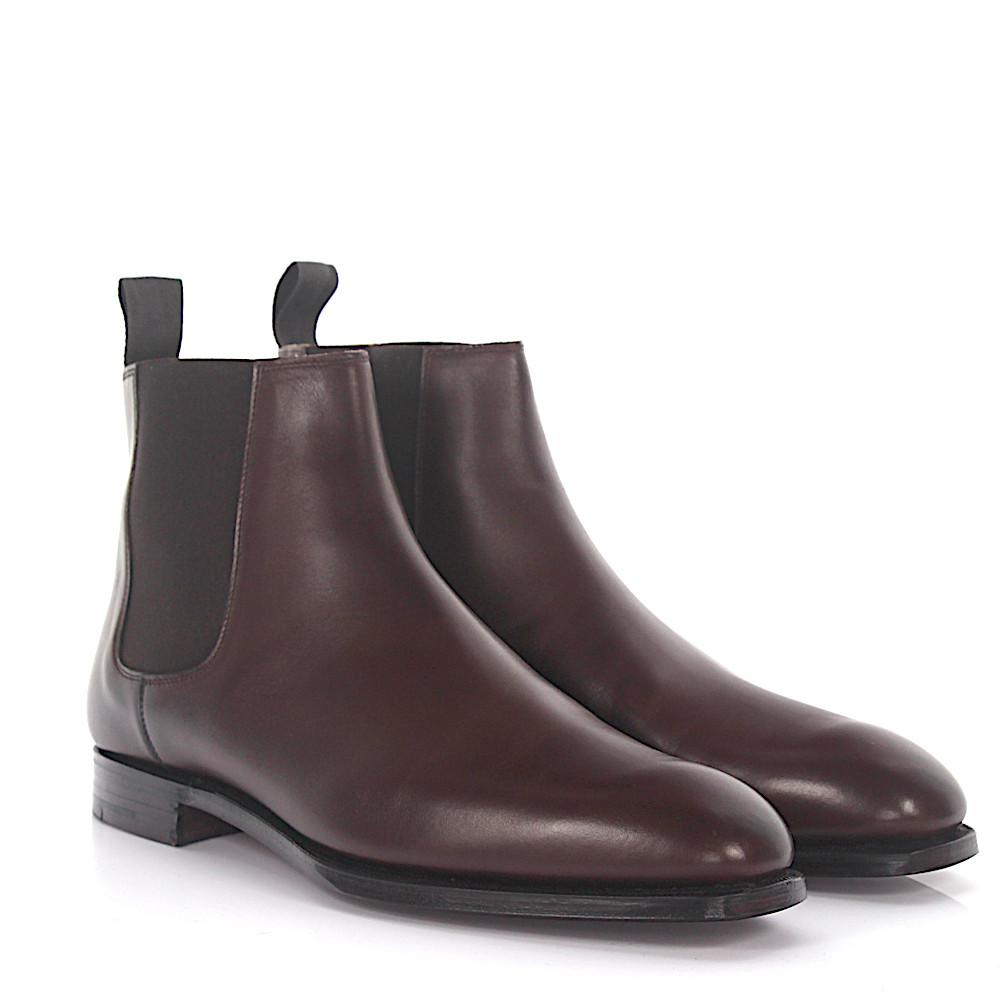 Crockett & Jones Chelsea Boots Cowdray leather Goodyear Welted