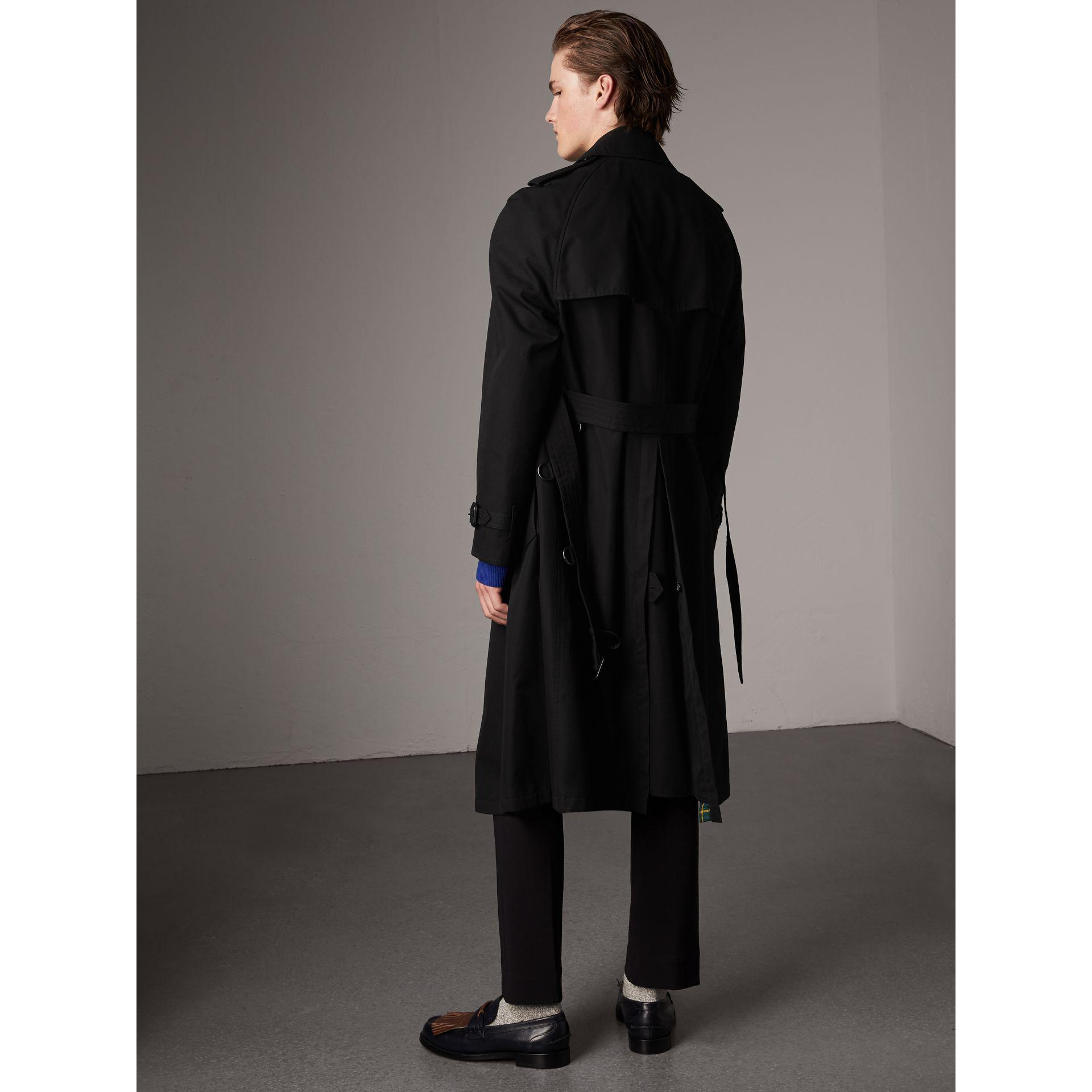 Gabardine Ring Coat