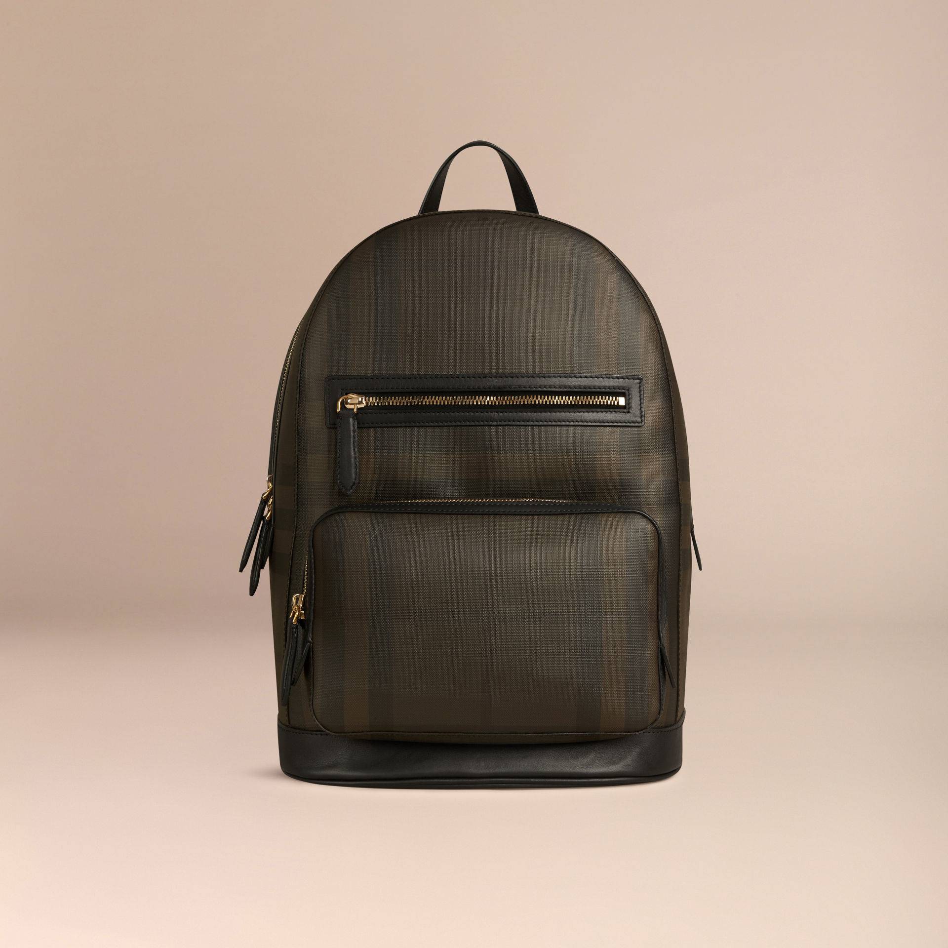 177d22ac1995 Lyst - Burberry London Check Backpack Chocolate black in Brown for Men