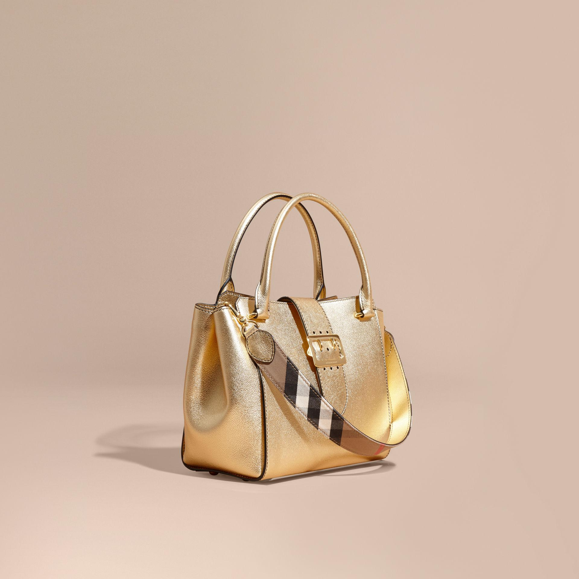 Burberry Bags Gold