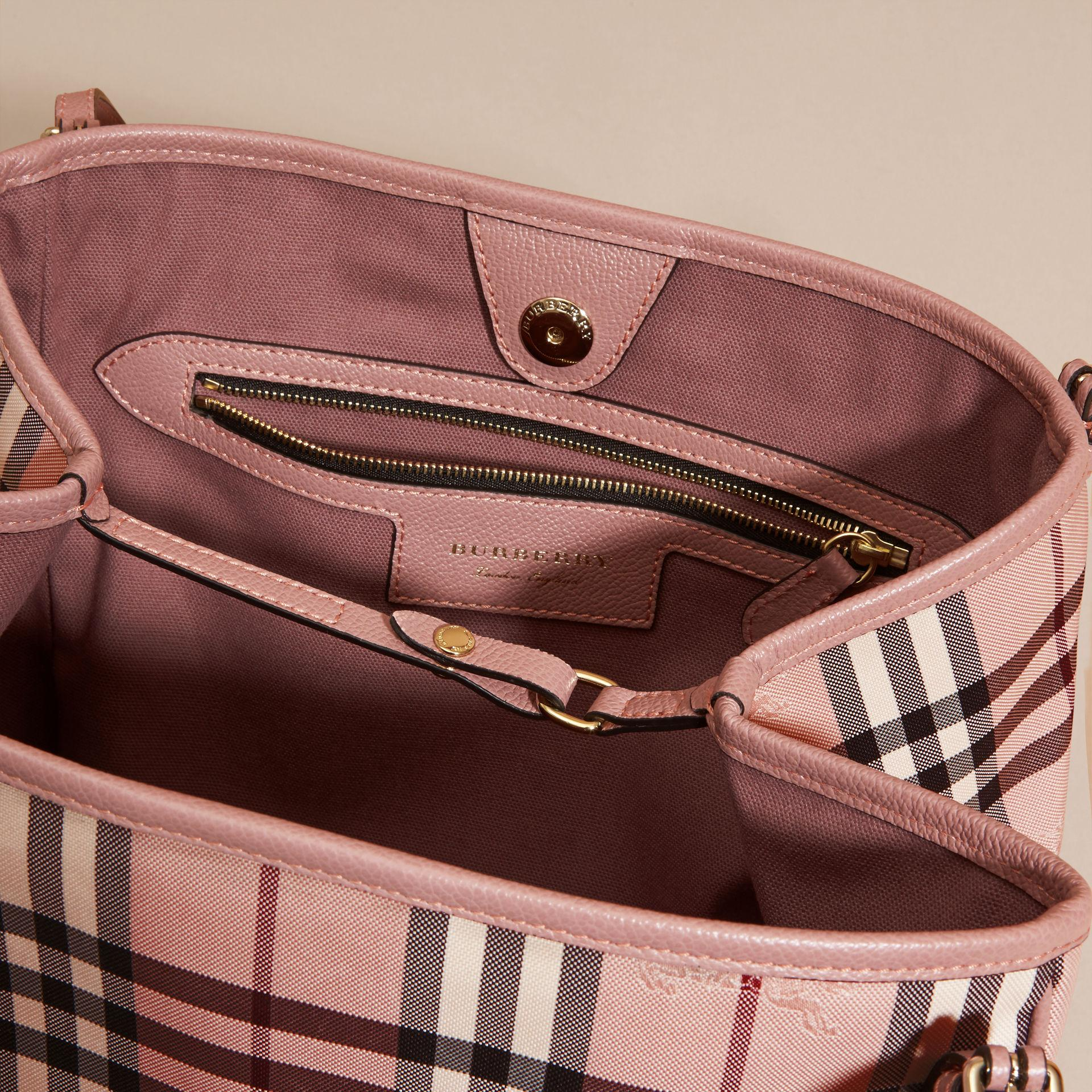 46c50ca5a3ab Lyst burberry the small canter in horseferry check ash rose dusty jpg  1920x1920 Canter ash rose
