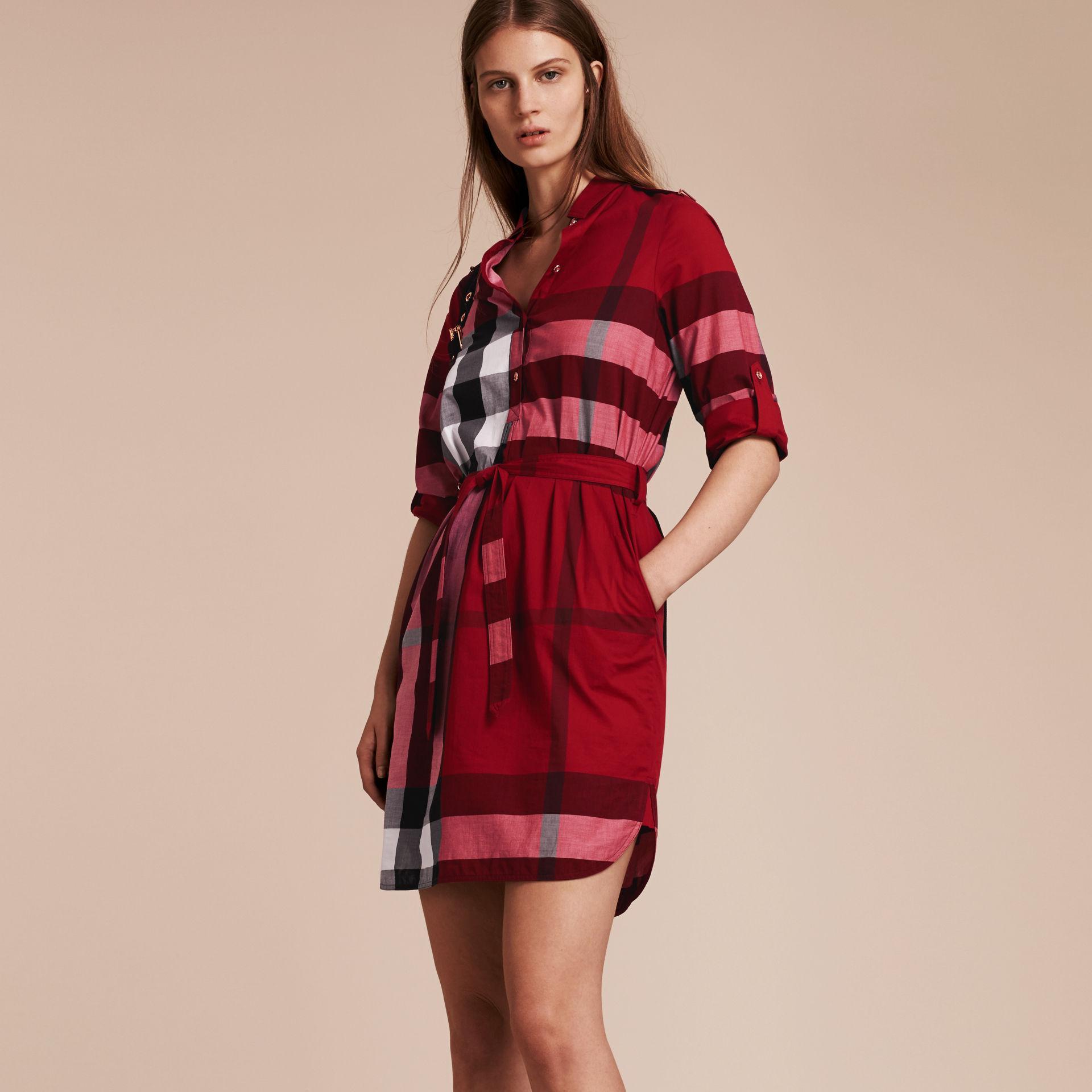 Red Parade Dress