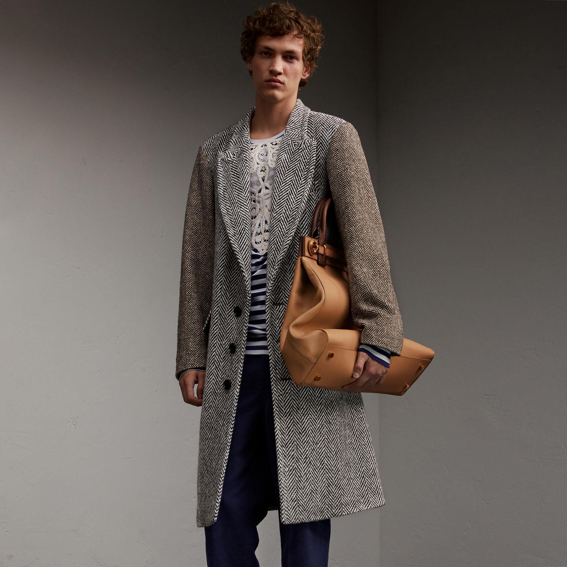burberry donegal herringbone wool tweed chesterfield for. Black Bedroom Furniture Sets. Home Design Ideas