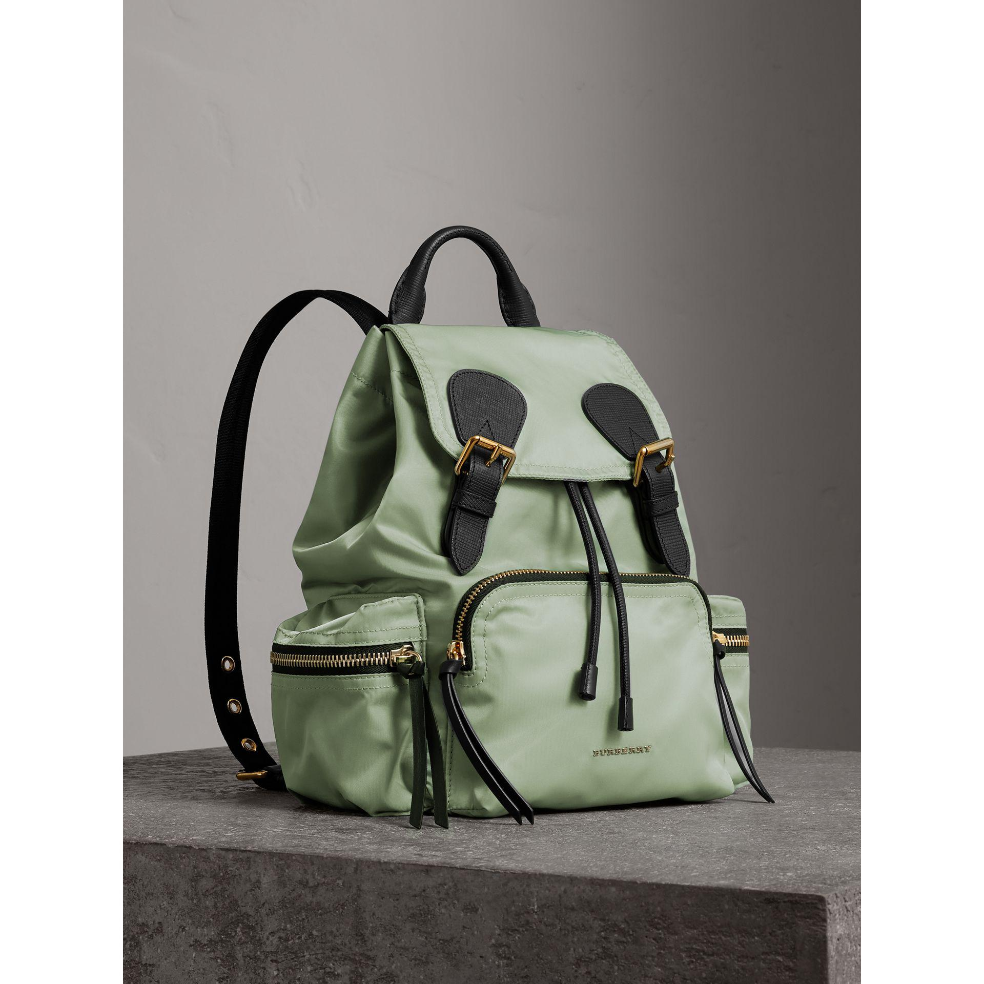 d2937f77a8ed Burberry The Medium Rucksack In Technical Nylon And Leather Apple ...