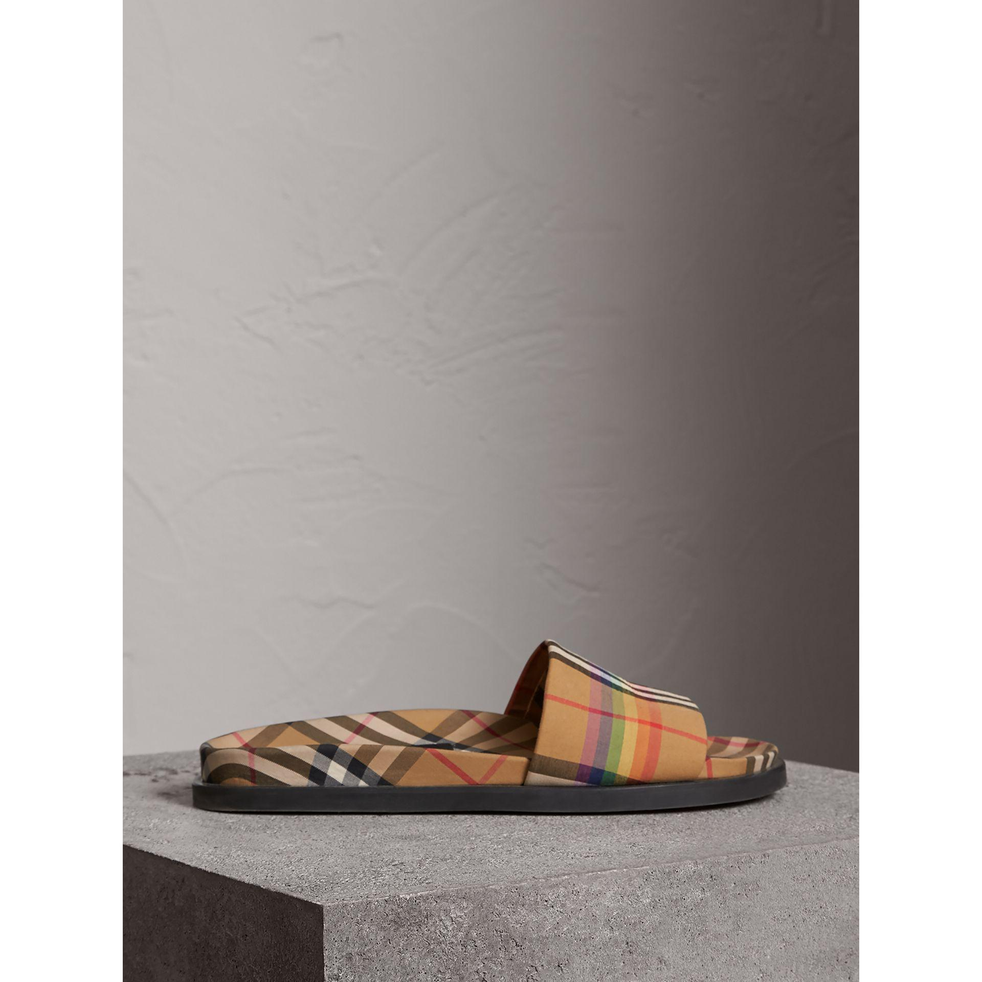 07e1b9df0f Burberry Multicolor Vintage Check Slides for men
