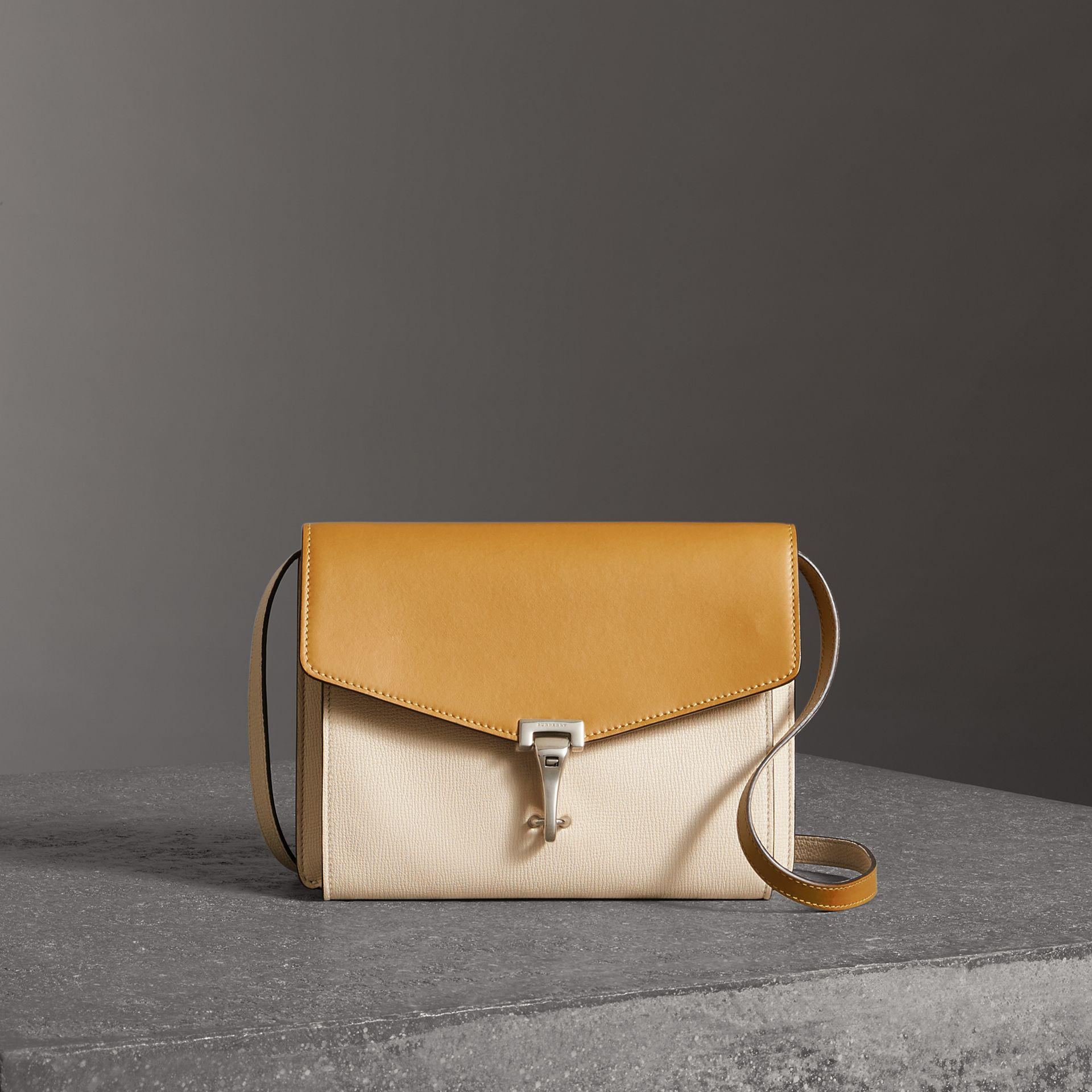 Sale 2018 Sale Huge Surprise Burberry Twotone Leather Crossbody Bag ... ec6b5c8b4e