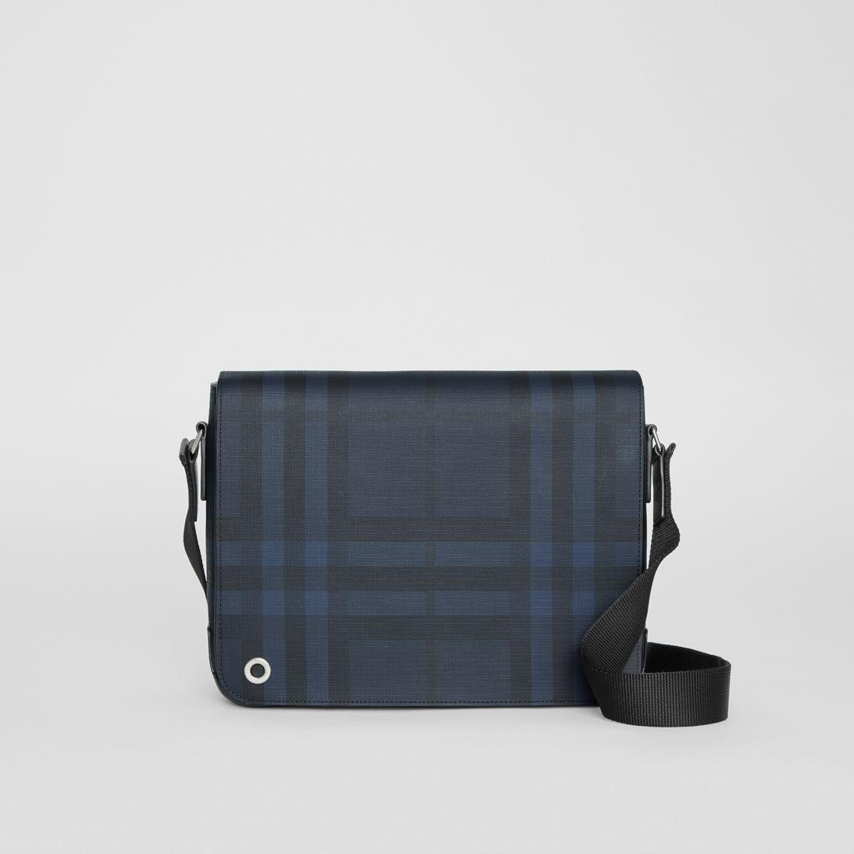 ffb0beb1c263 Lyst - Burberry Small London Check Satchel for Men