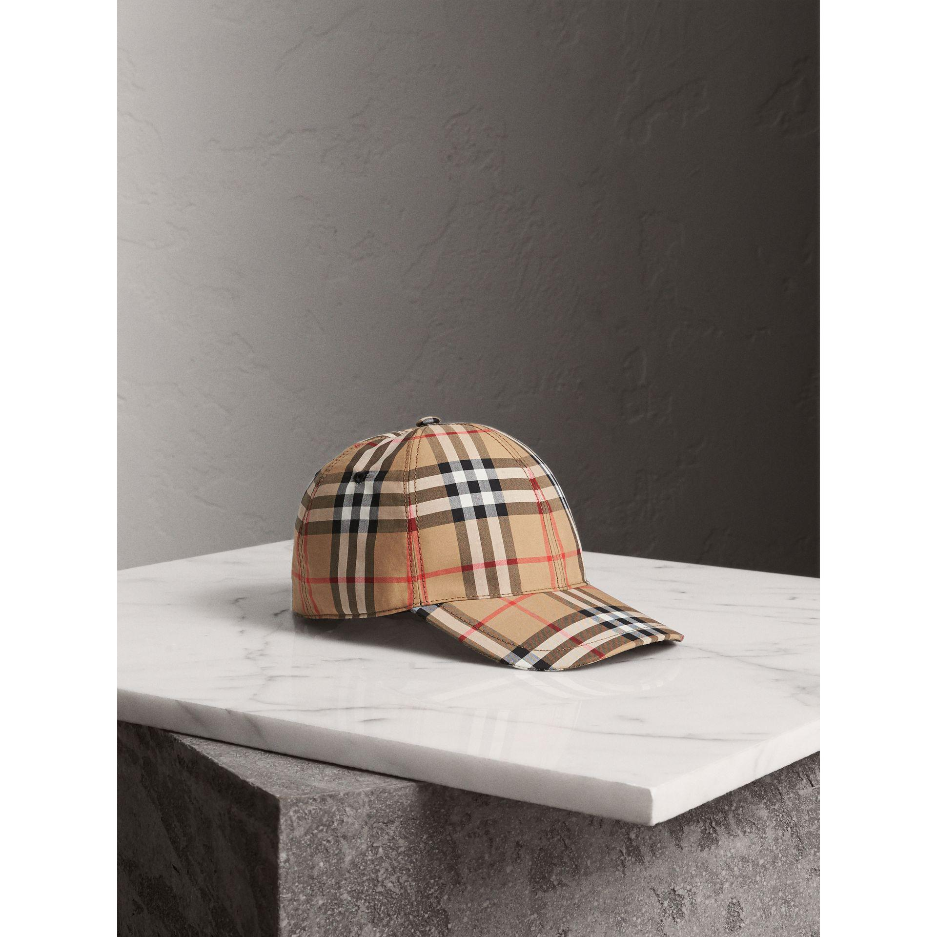 072d31a1102 Lyst - Burberry Vintage Check Baseball Cap