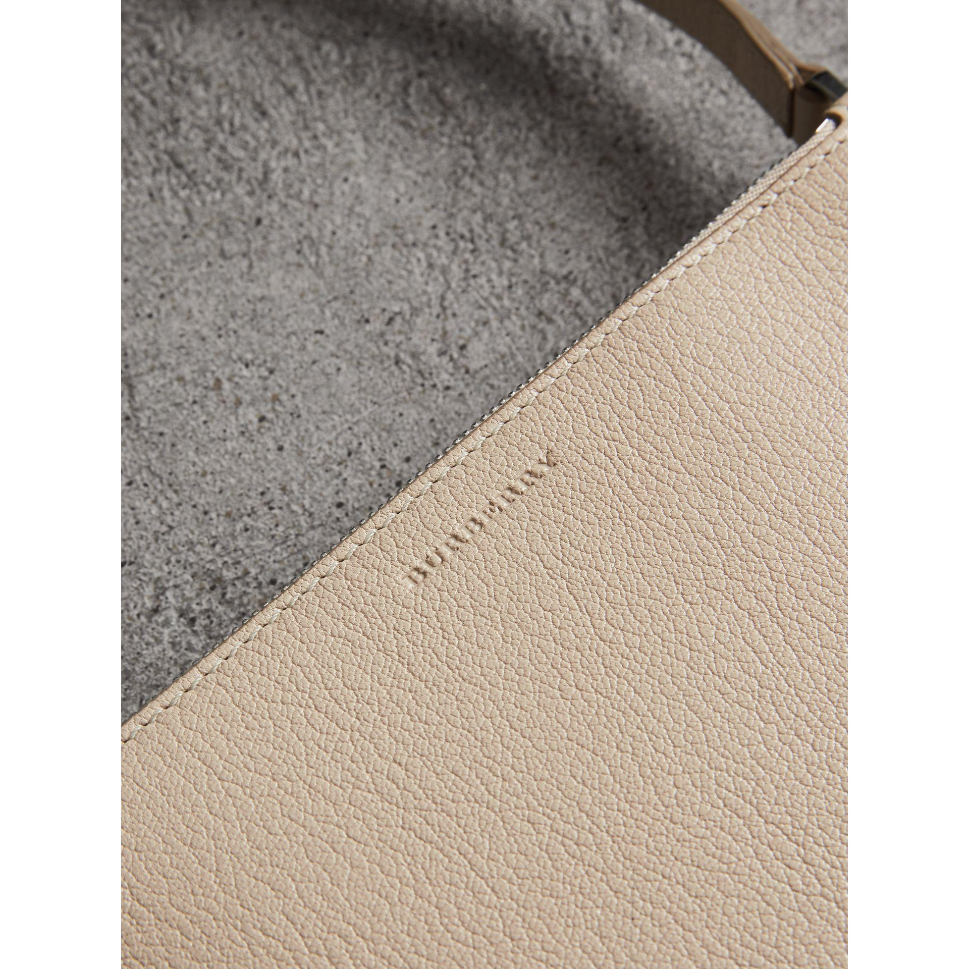 bb71d4fba05d Lyst - Burberry Triple Zip Grainy Leather Crossbody Bag