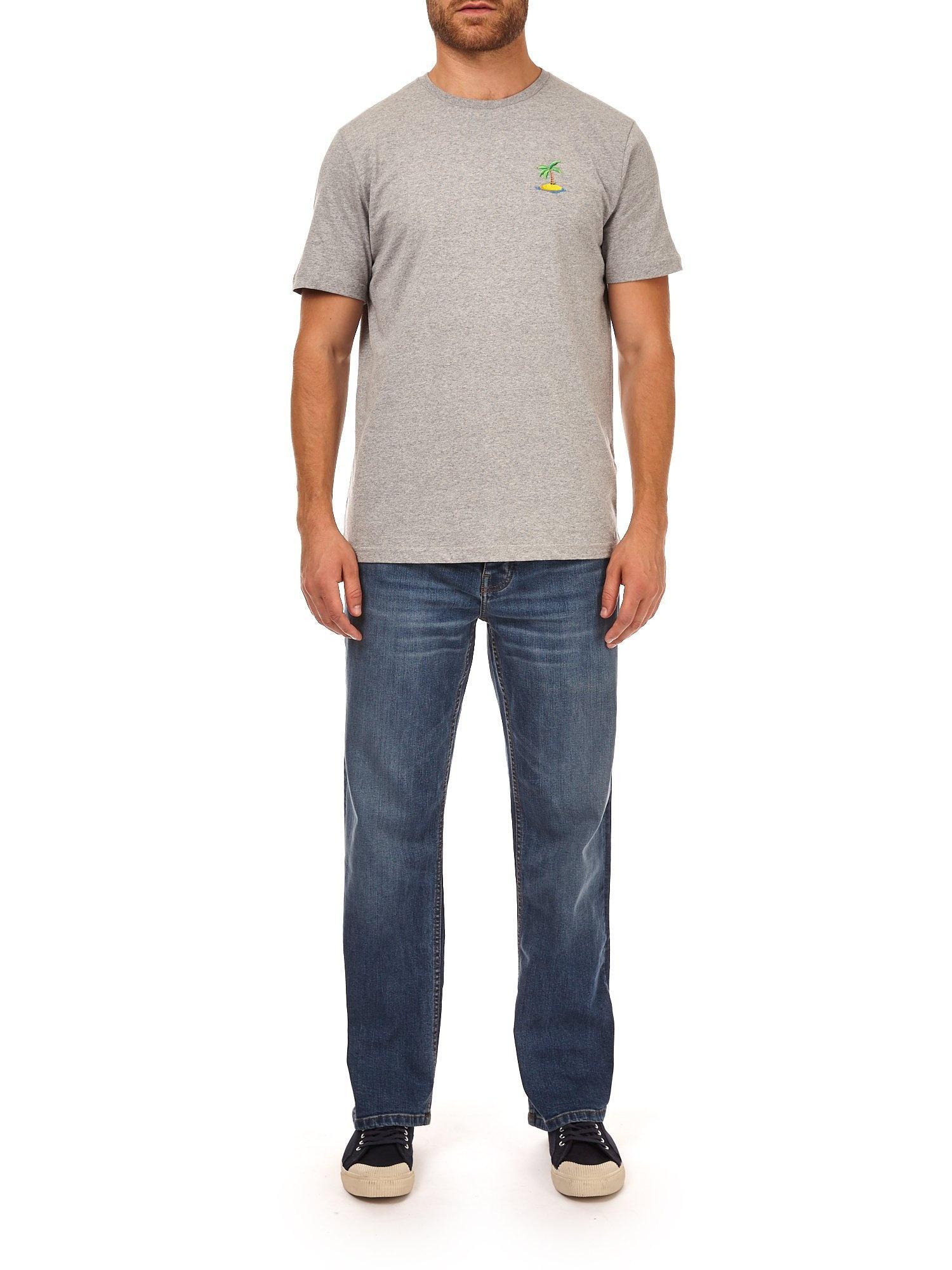 Burton Denim Light Wash Wyatt Relaxed Fit Jeans in Blue for Men