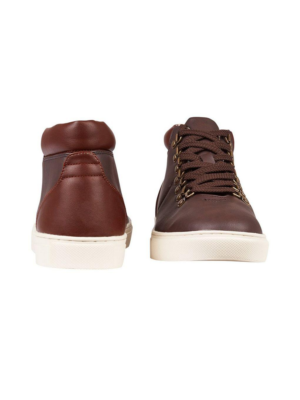 3eefc72f538 Burton Brown Leather Look Boots in Brown for Men - Lyst