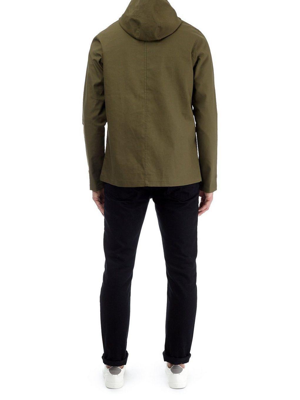 Burton Cotton Threadbare Khaki Dover Hooded Dogwalker Jacket for Men