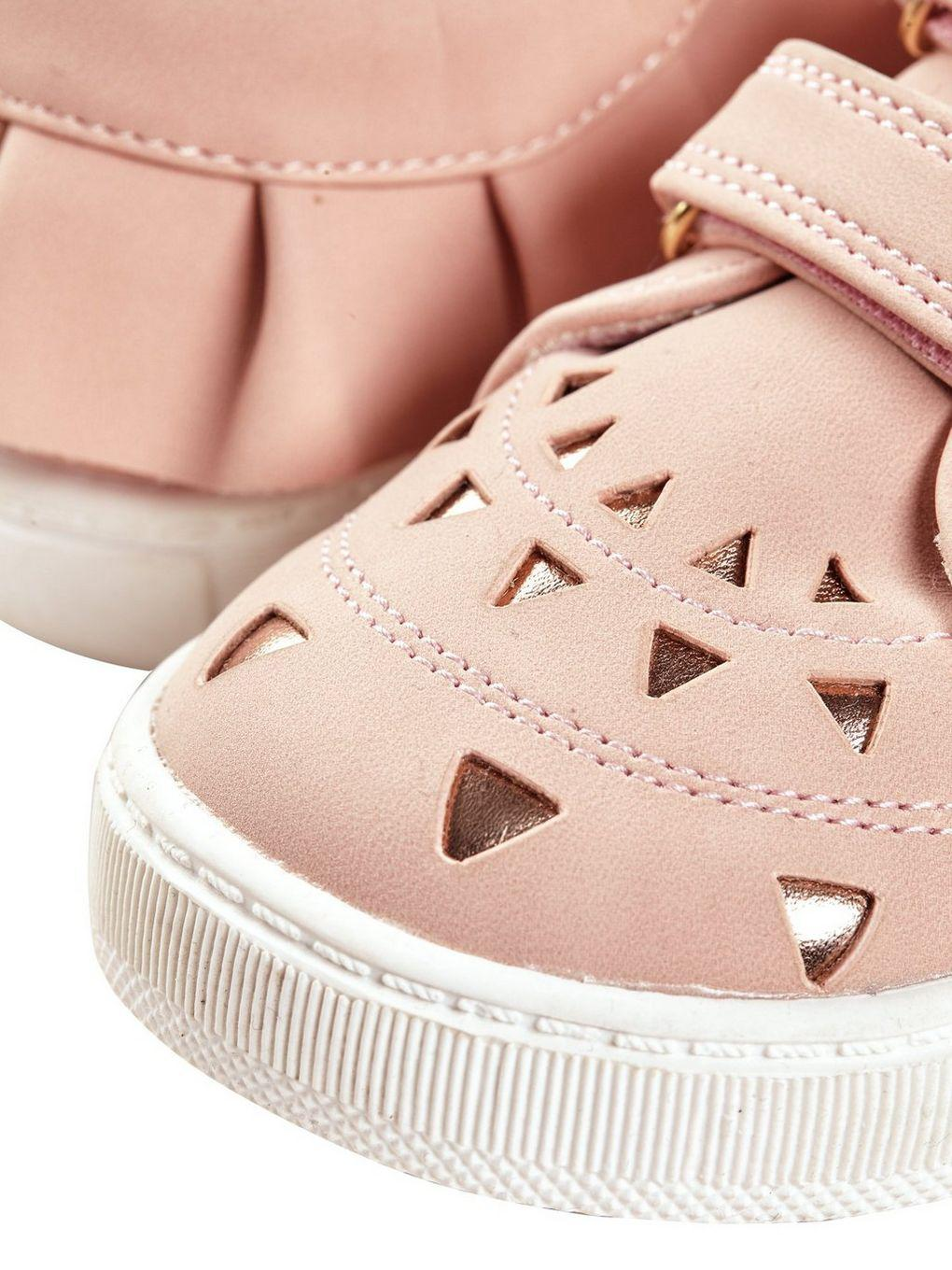 Burton Girls Pink Laser Cut Low Trainers (18 Months - 6 Years) for Men