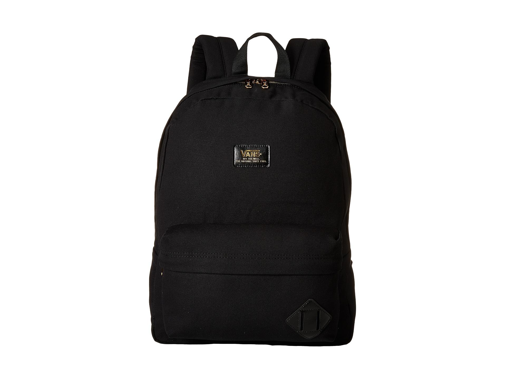 5c2ef8bcaa ... lyst vans old skool 50th backpack in black for men ...