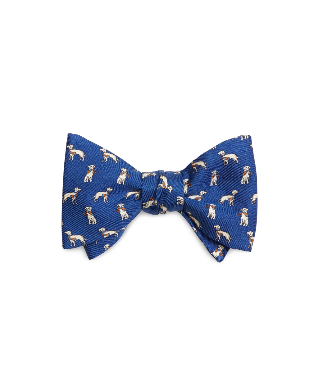 Brooks brothers Dog Print Bow Tie in Blue for Men | Lyst