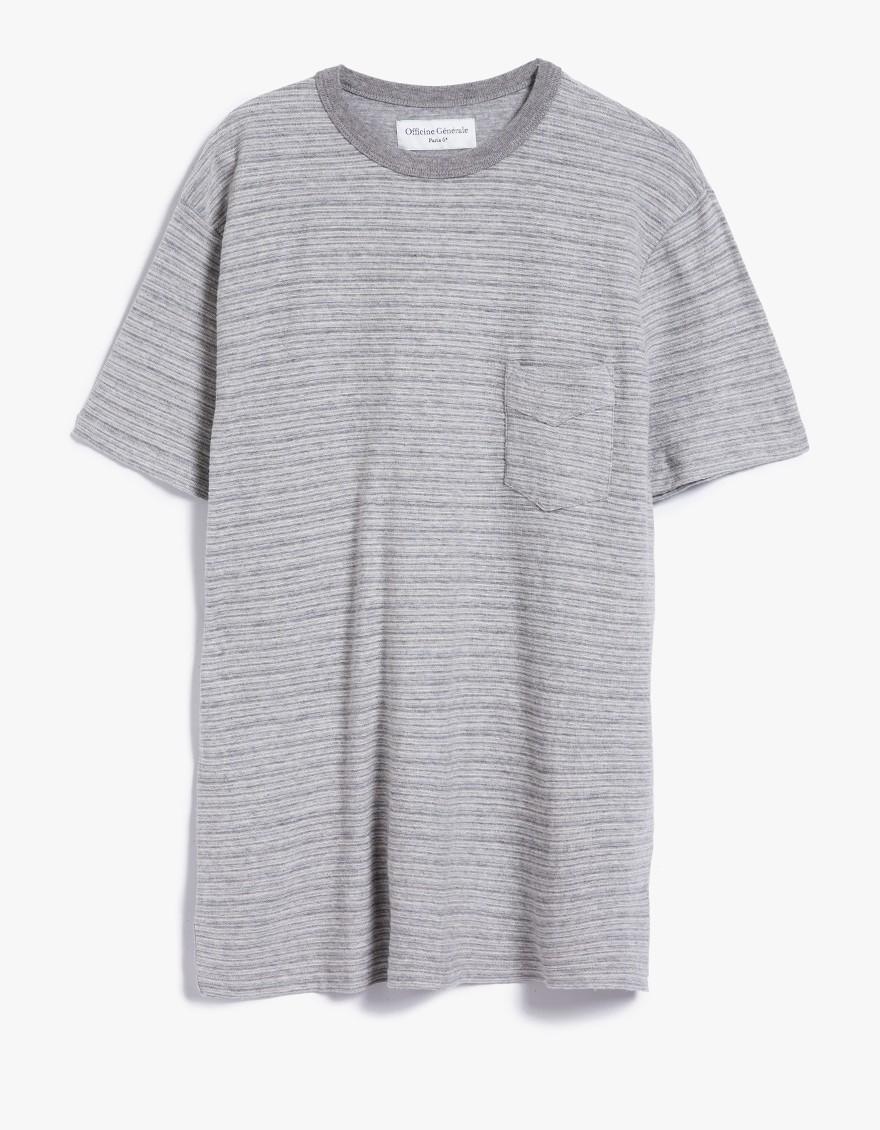 OFFICINE GENERALE Pocket T-shirt pBn9Ta4