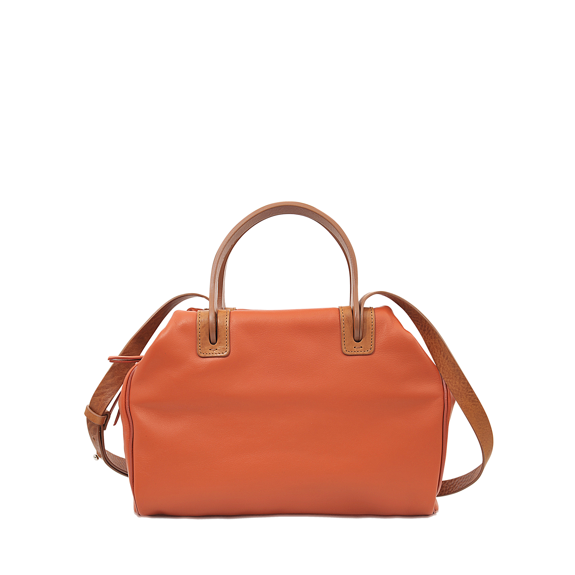 Maison margiela Pick Up Bowling Bag in Orange