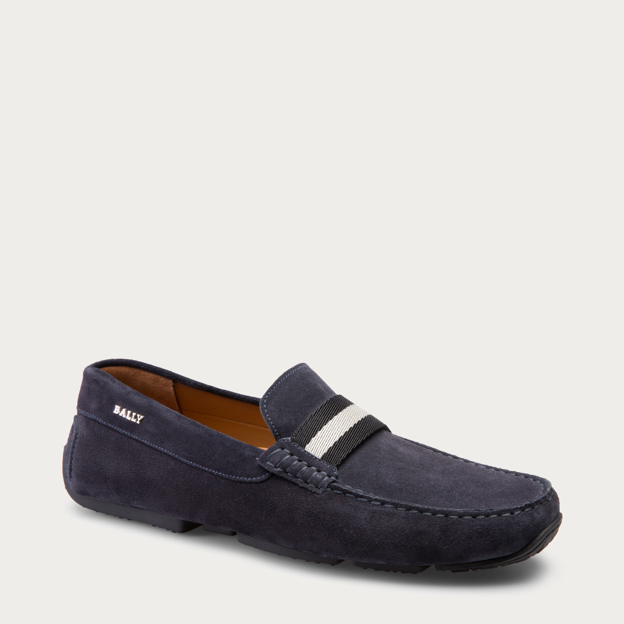 John Lobb Shoes >> Bally Pearce Men ́s Suede Driver In Blue Navy in Blue for ...