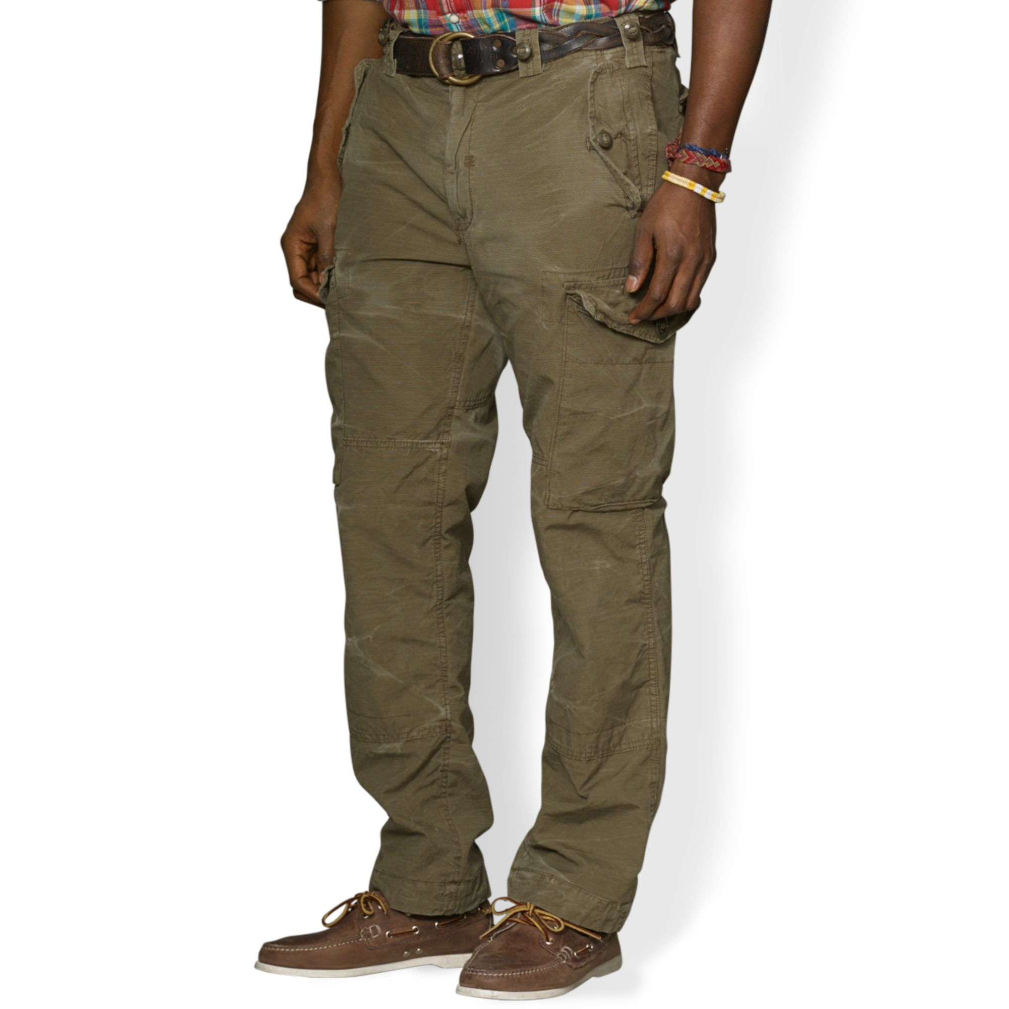 Ralph lauren Polo Big and Tall Classicfit Canadian Ripstop Cargo ...
