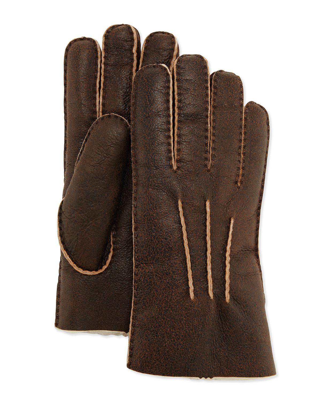 Mens leather gloves sydney - Uggs Gloves Men