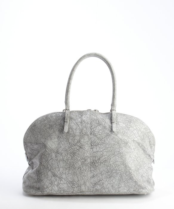 Lyst Balenciaga Concrete Cracked Leather Buckle And
